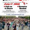 カナダデイのパレード参加しますよ。
