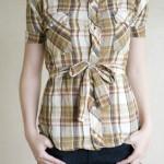 メンズシャツをオサレにリメイクするアイディア<2>