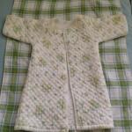 壊れた枕からベビーの冬のお布団を作る。