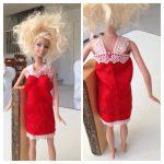【ドール】ブライスの型紙からバービーとプーリップの服を作る。